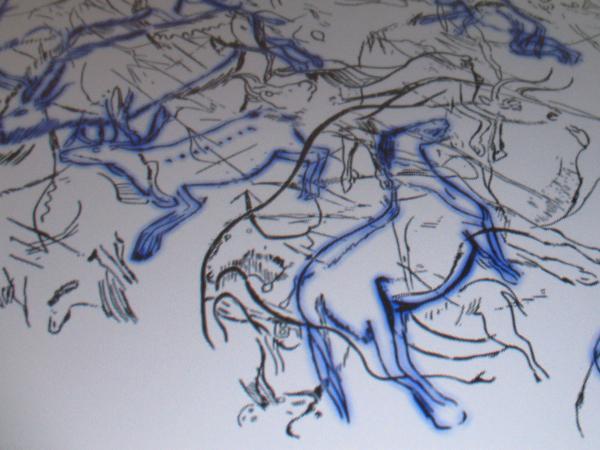 Digital Cave painting  ... Malen wie in der Steinzeit